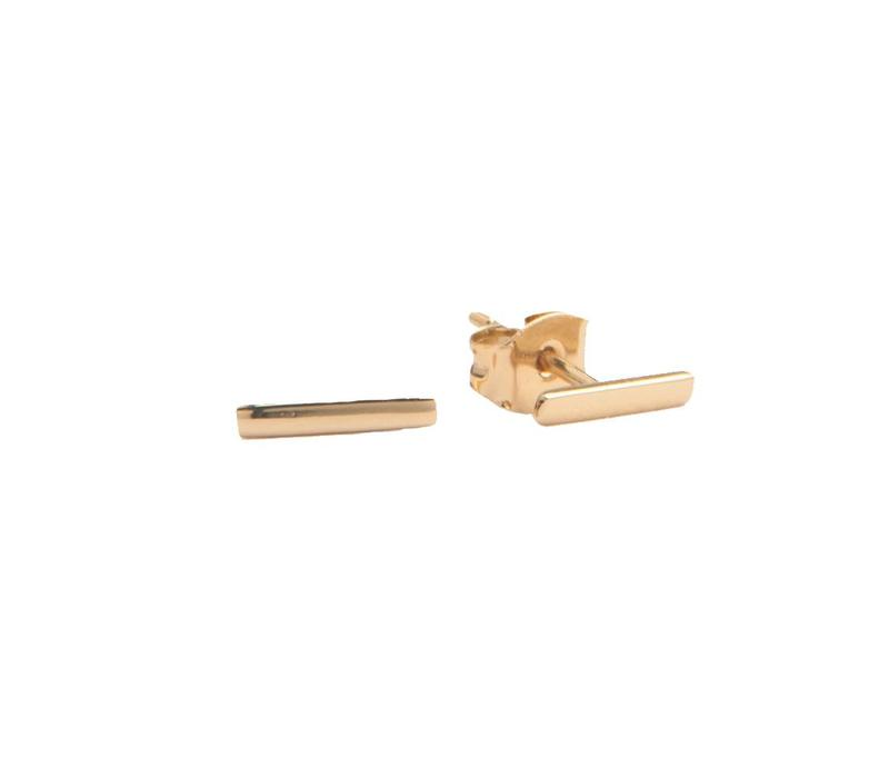 Earrings Bar gold