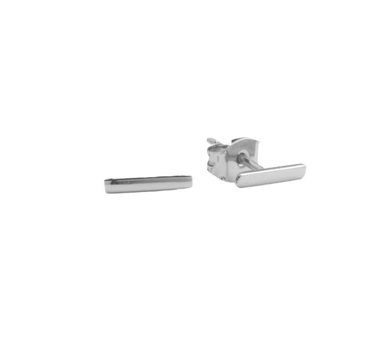 Earrings Bar silver