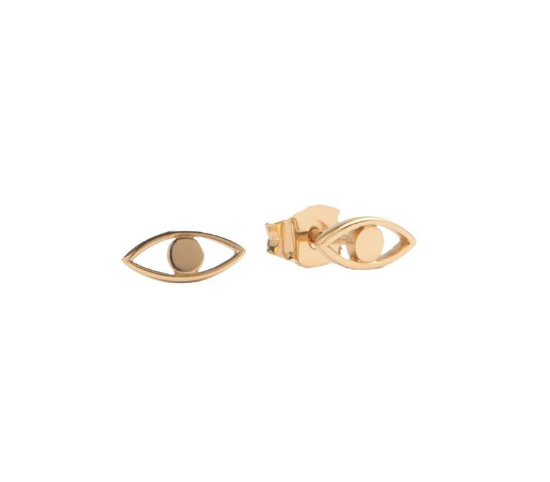 Parade Goldplated Earrings Eye