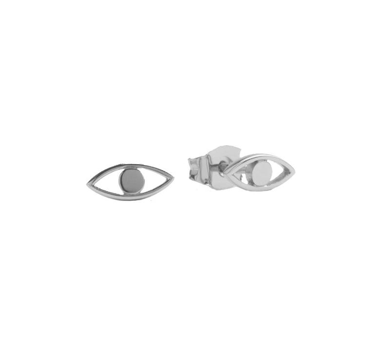 Earrings Eye silver