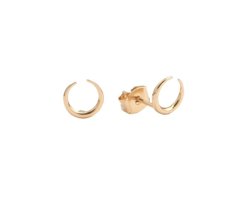 Earrings Horn gold