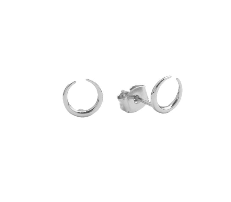Earrings Horn silver