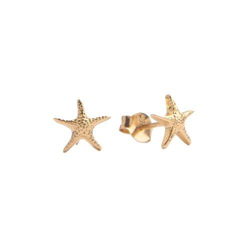 Oorbellen Zeester 18K goud