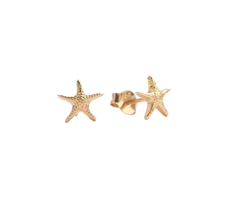Parade Goldplated Earrings Starfish