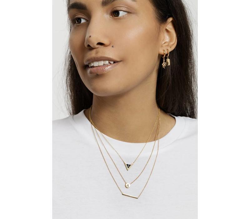 Souvenir Goldplated Necklace Bar