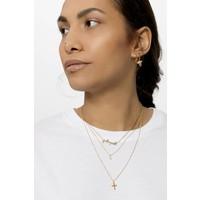 Souvenir Goldplated Necklace Cross