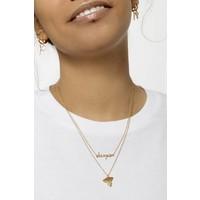 Souvenir Goldplated Necklace Eagle