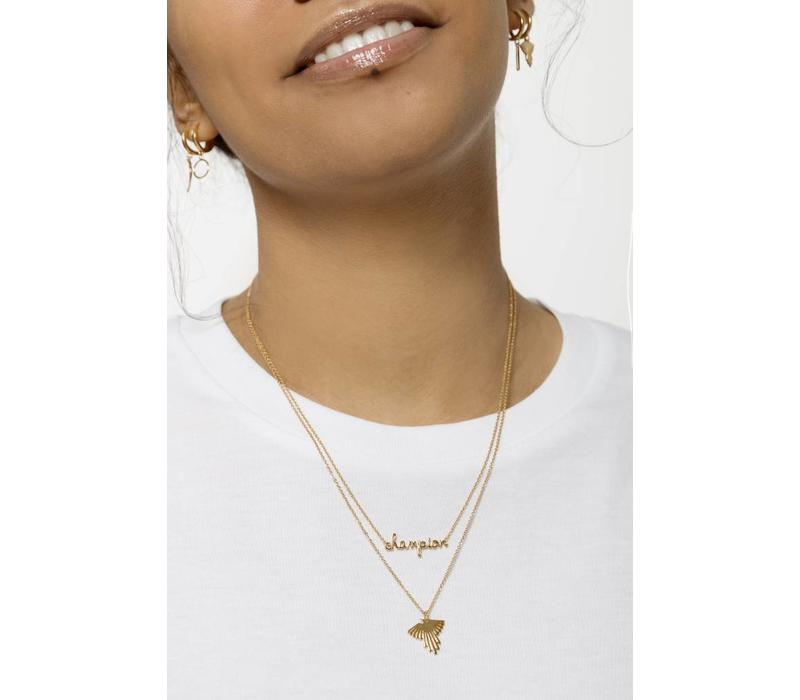 Necklace Eagle gold