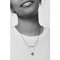 Souvenir Silverplated Necklace Eagle