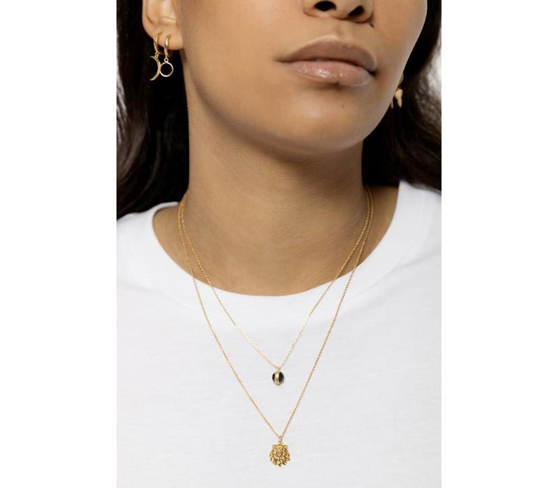 Souvenir Goldplated Necklace Lion