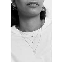 Souvenir Silverplated Necklace Open Triangle