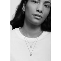 Souvenir Silverplated Necklace Elephant