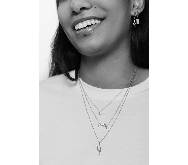 Necklace Cactus silver