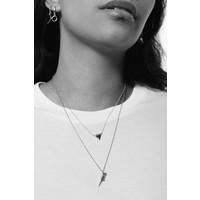 Souvenir Silverplated Necklace Parrot