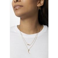 Souvenir Goldplated Necklace Long Moon