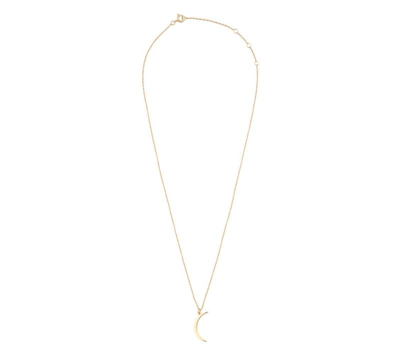 Souvenir Goldplated Ketting Lange Maan