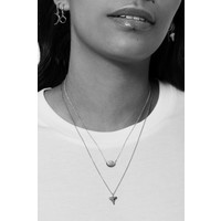 Souvenir Silverplated Necklace Tooth