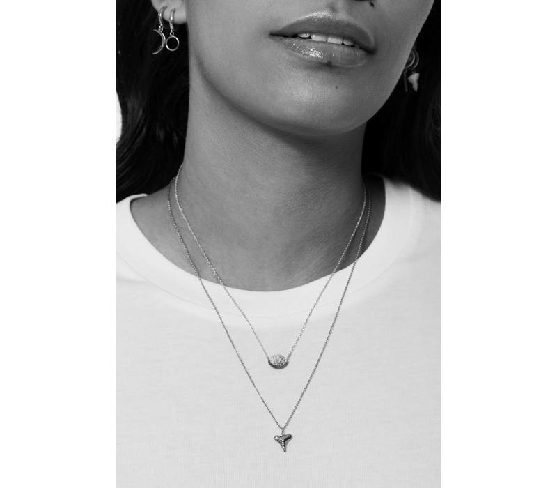Souvenir Silverplated Ketting Tand
