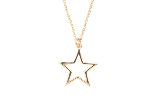All the Luck in the World Necklace Star gold