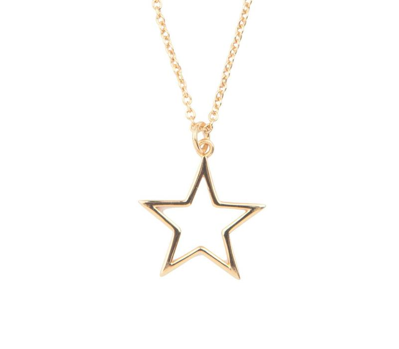 Souvenir Goldplated Necklace Star