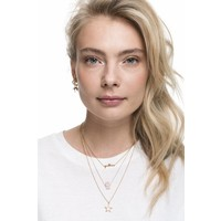 Necklace Star plated