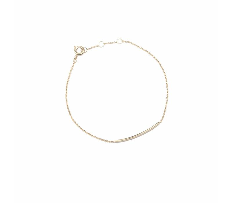 Armband Staaf 18K goud