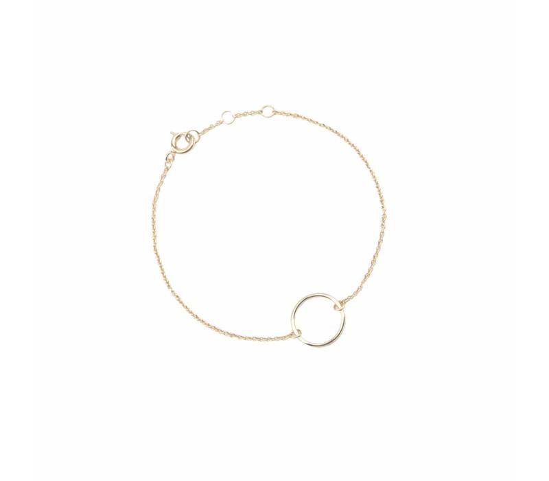Souvenir Goldplated Bracelet Circle