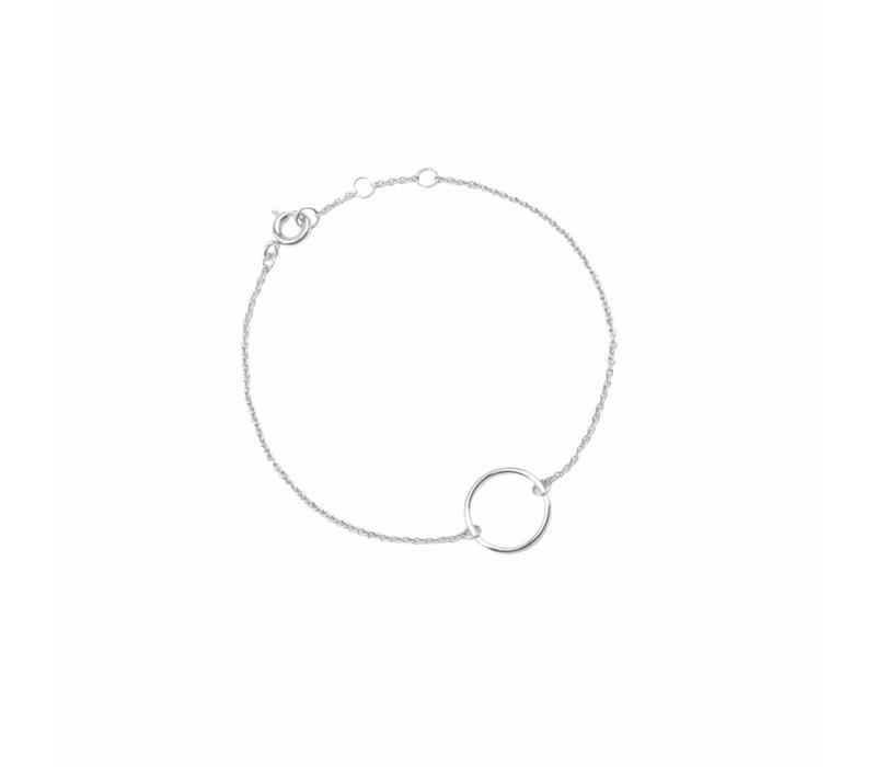 Armband Cirkel zilver