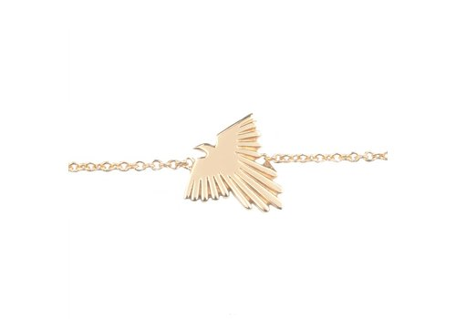 All the Luck in the World Souvenir Goldplated Bracelet Eagle