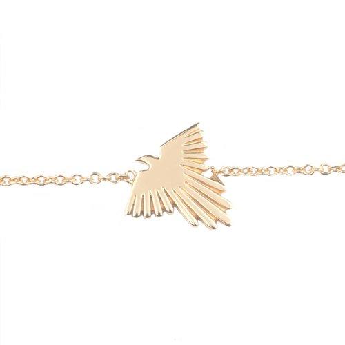 Souvenir Goldplated Armband Adelaar