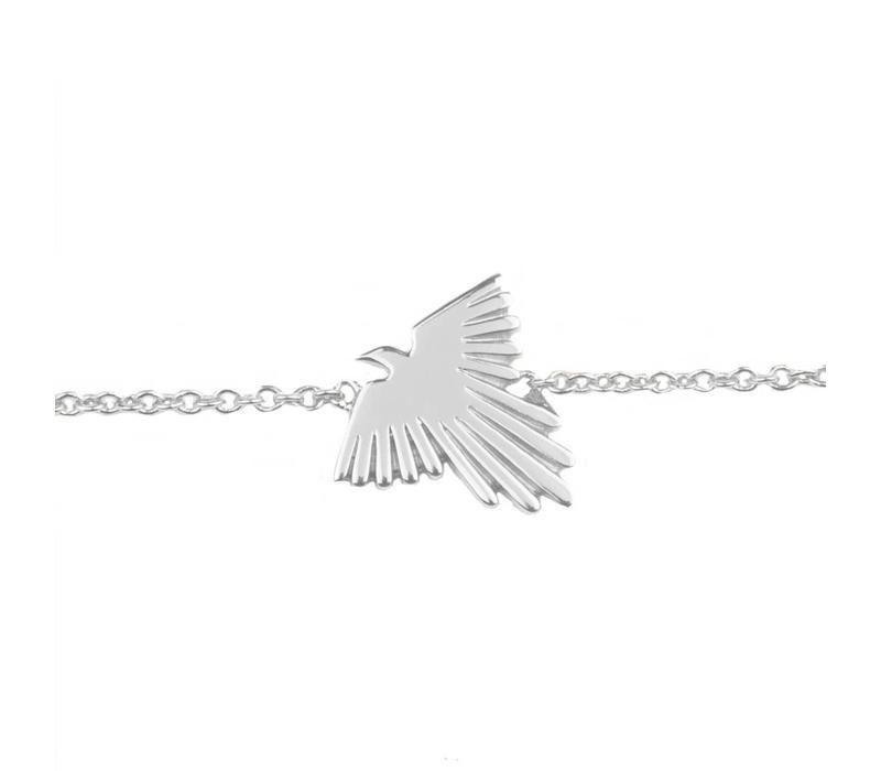Armband Adelaar zilver