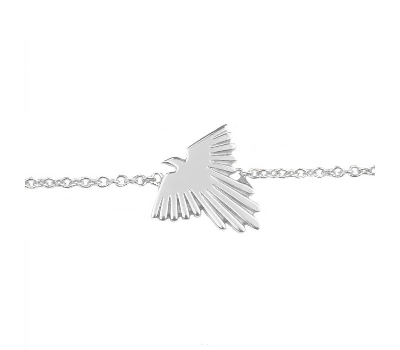 Souvenir Silverplated Armband Adelaar
