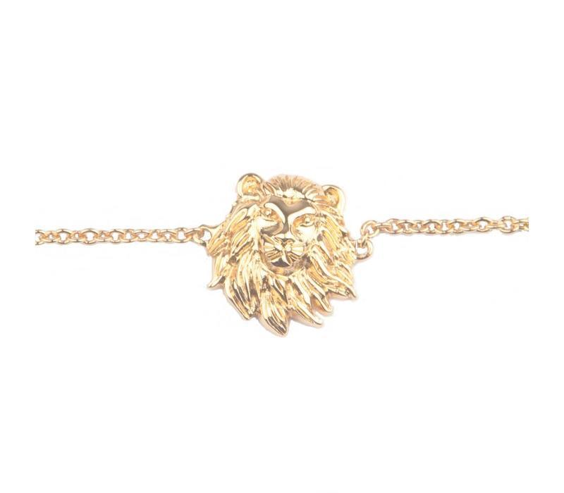 Souvenir Goldplated Bracelet Lion