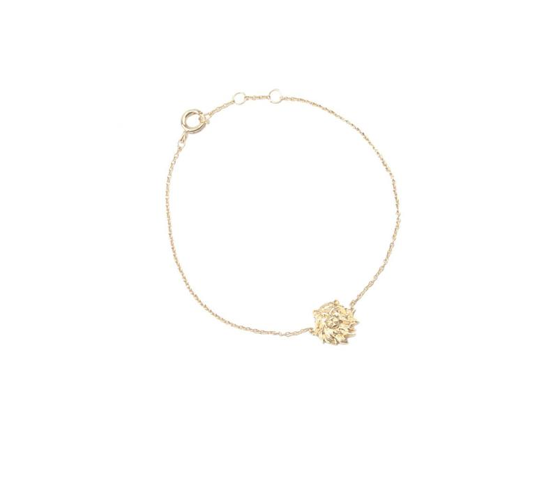 Bracelet Lion gold