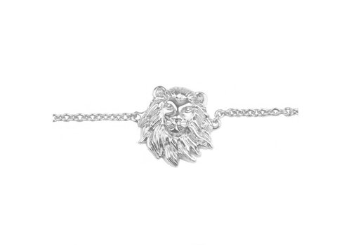 All the Luck in the World Souvenir Silverplated Bracelet Lion