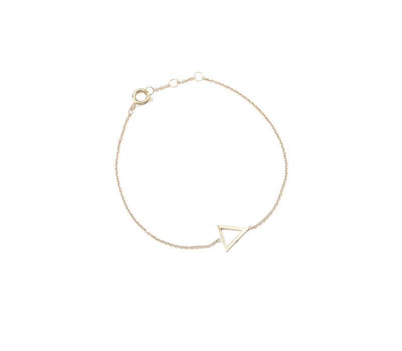 Armband Open Driehoek 18K goud