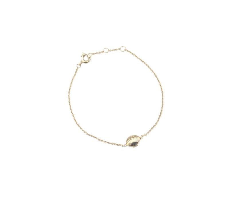 Souvenir Goldplated Bracelet Sea Shell