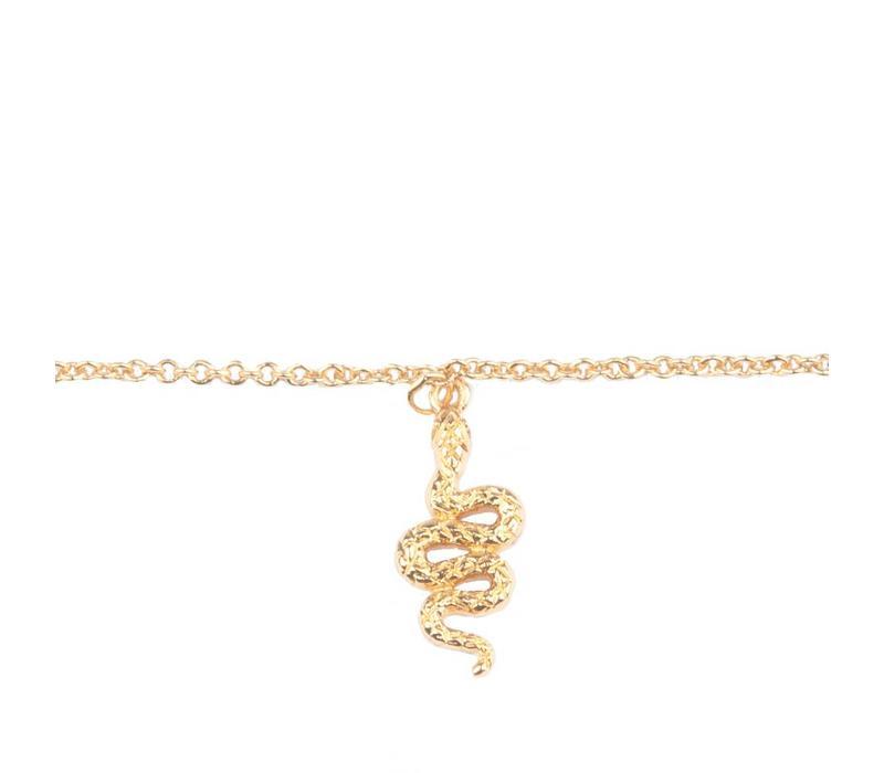 Armband Slang goud