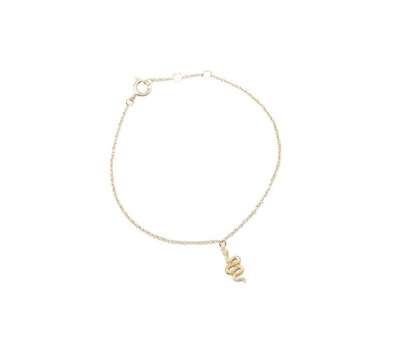 Souvenir Goldplated Armband Slang