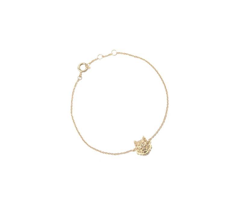 Bracelet Wolf gold
