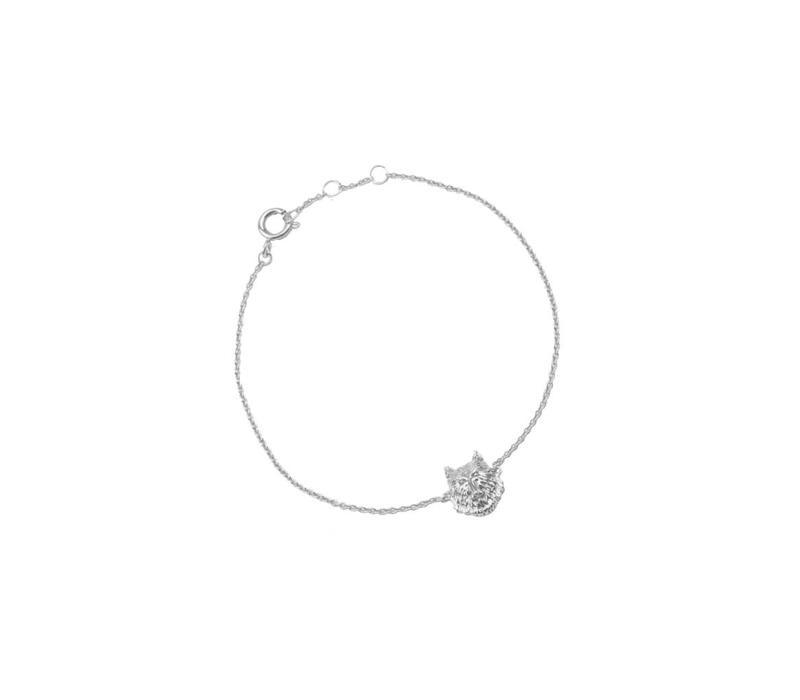 Bracelet Wolf silver