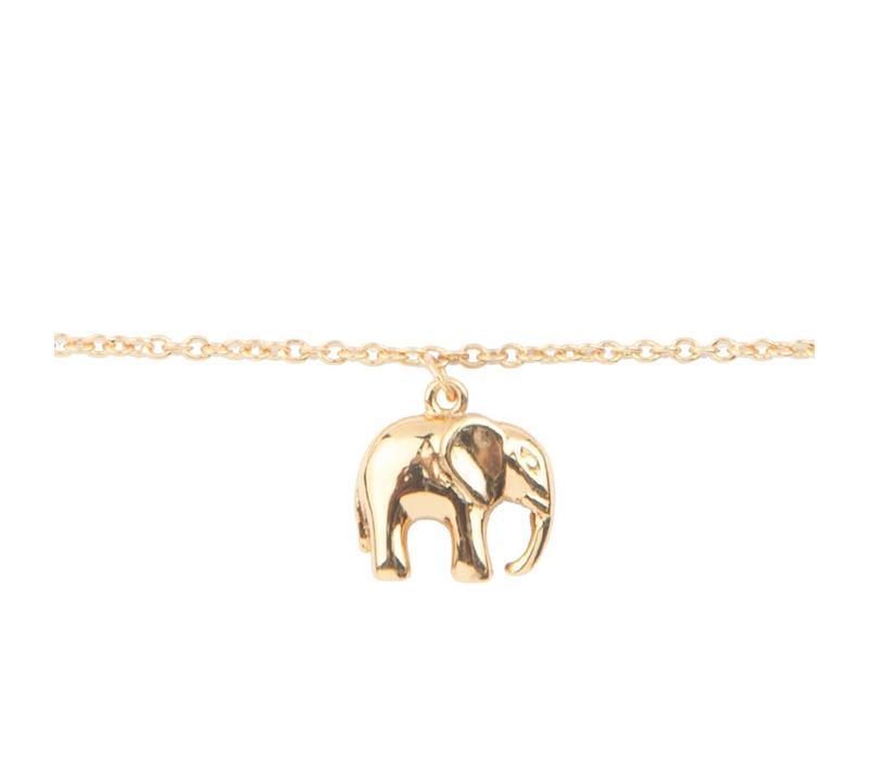 Armband Olifant goud