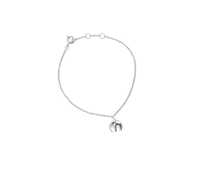 Bracelet Elephant plated