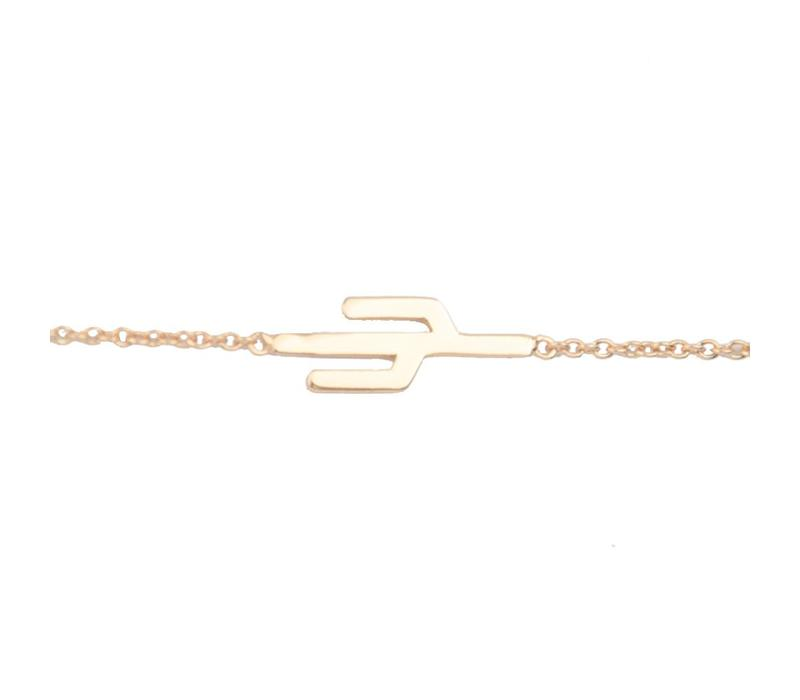 Bracelet Cactus gold