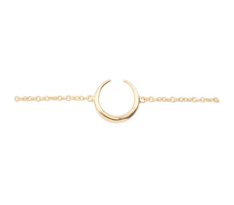 Bracelet Horn gold