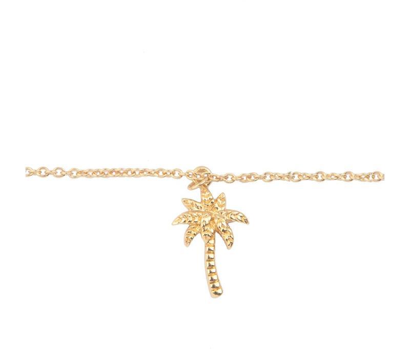 Bracelet Palm Tree gold