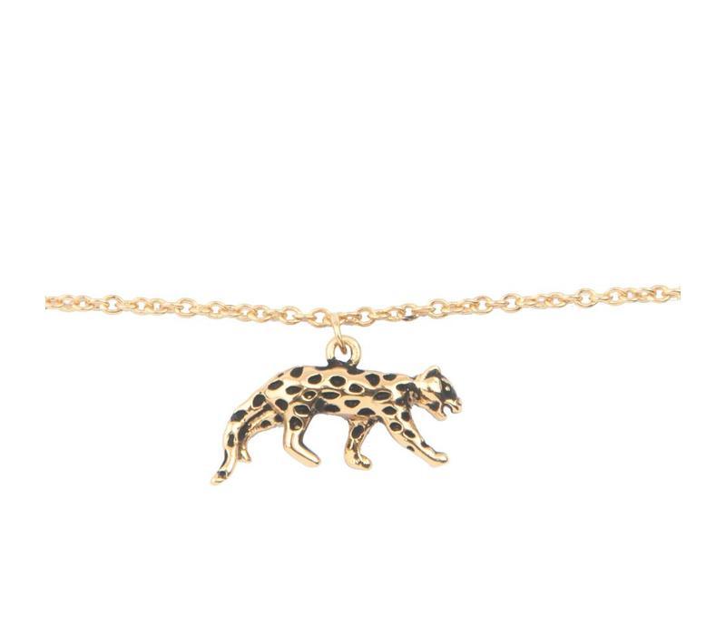 Armband Luipaard goud
