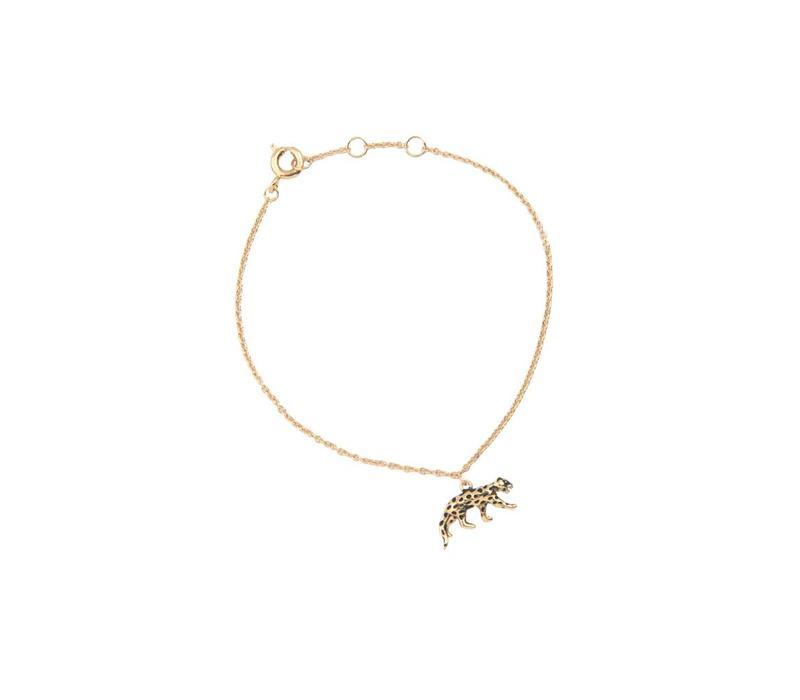Armband Luipaard 18K goud