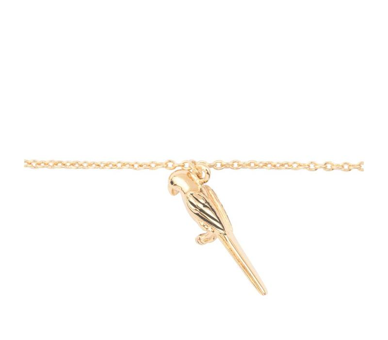 Souvenir Goldplated Bracelet Parrot