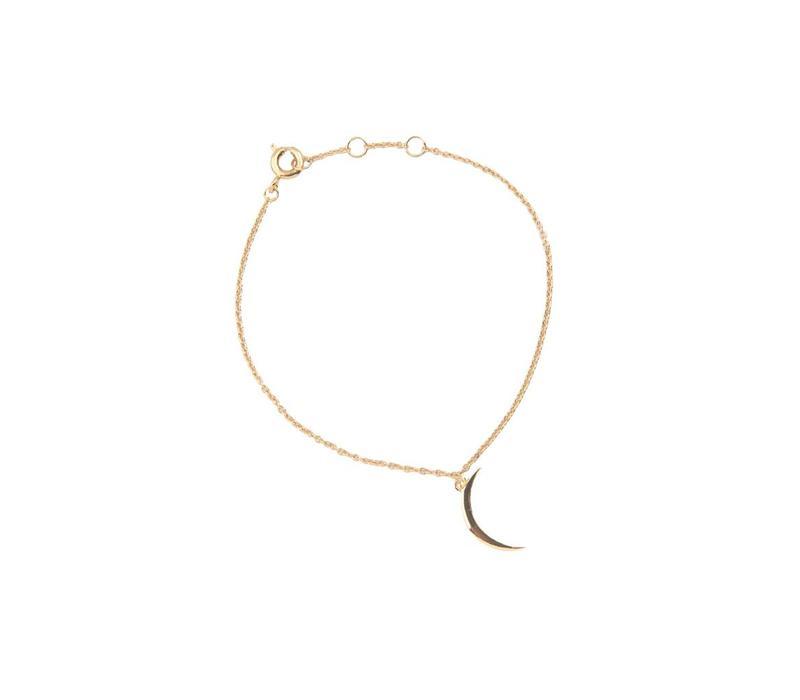 Armband Lange Maan 18K goud